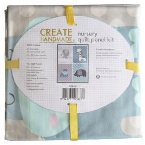 Patchwork Quilting Fabric SAFARI PALS QUILT KIT Nursery Panel New