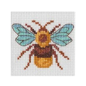BEUTRON Cross Stitch Kit For Beginner BEE 7x7cm 578109 New