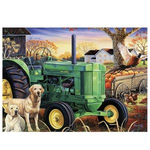 5D Diamond Painting Full Image Square Drills TRACTOR 40x50cm New