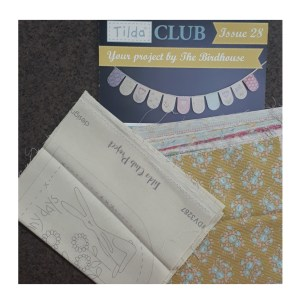 Tilda Club 01/20 Issue 28 Quilting Sewing Fabric Issue Craft Pattern Kit