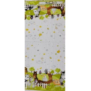 Patchwork Quilting Sewing Fabric BARNYARD BUDDIES 1/2m Cut x110cm New