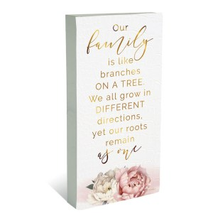 French Country Wooden Sign Mothers Day OUR FAMILY Plaque