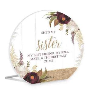 French Country Wooden Sign Natives SOUL SISTER Plaque