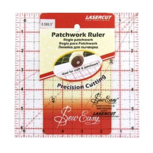 Quilting Patchwork Sewing Template SQUARE 6.5x6.5 Inch Sew Easy NL4177