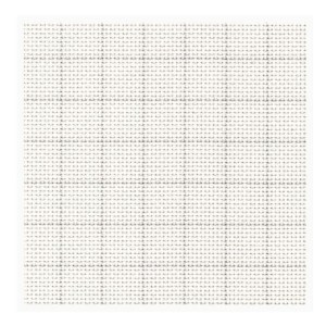 Cross Stitch Aida Cloth 14ct EASY COUNT WHITE Size 30x55cm Fabric