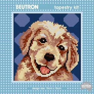 Beautron Handmade Tapestry Kit Beginner GOLDEN RETREIVER