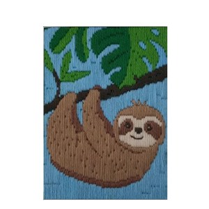 BEUTRON Long Stitch Kit Kids Beginner SLOTH 585226