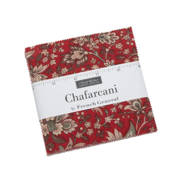 Quilting Charm Pack Patchwork MODA CHAFARCANI 5 Inch Sewing Fabrics
