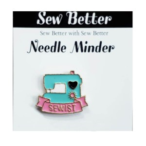 Sew Better Cross Stitch Needle Minder Keeper SEWIST MACHINE