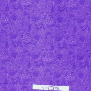 Quilting Patchwork Fabric ROYAL PURPLE SHADOWS Wide Backing 300x50cm New