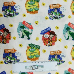 Quilting Patchwork Fabric TOY STORY Sewing 50x55cm FQ