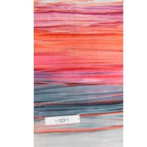 Quilting Patchwork Fabric BATIK RED BACKS STRIPS Wide Backing 270x50cm Ne