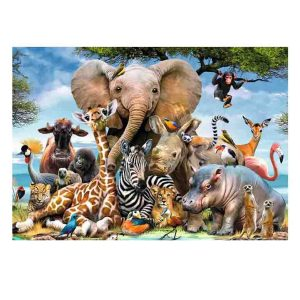 5D Diamond Painting Full Image Square Drills AFRICAN FAMILY 40x50cm