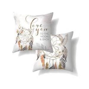 Country Cushion BARN OWL Love You to Moon 60x60cm inc Insert