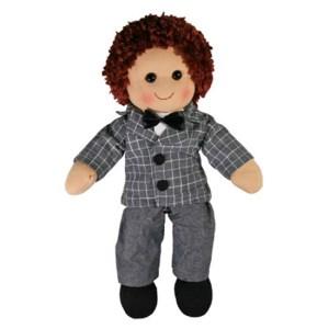 Hopscotch Lovely Soft Rag Doll PARKER Boy Dressed Doll Large 35cm