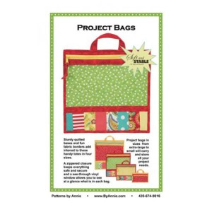 Quilting Sewing Patchwork By Annie PROJECT BAGS Pattern