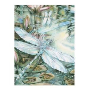 5D Diamond Painting Full Image Square Drills DRAGONFLIES 40x30cm