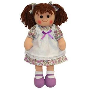 Hopscotch Lovely Soft Rag Doll ELIZABETH Girl Dressed Doll Large 35cm