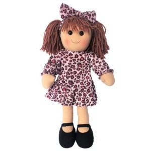 Hopscotch Lovely Soft Rag Doll EVELYN Girl Dressed Doll Large 35cm