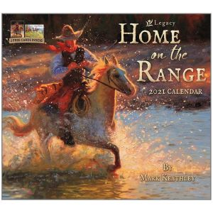 2021 Legacy Calendar HOME ON THE RANGE Calender Fits Lang Wall Frame