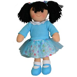 Hopscotch Lovely Soft Rag Doll JESS Girl Dressed Doll Large 35cm