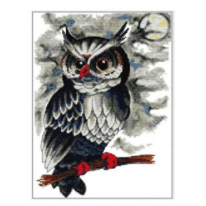 Cross Stitch Kit OWL 10 X Stitch Joy Sunday Inc Threads