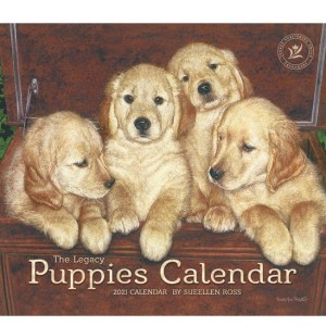 Legacy 2021 Calendar PUPPIES Calender Fits Lang Wall Frame