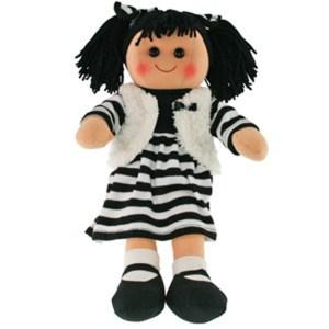 Hopscotch Lovely Soft Rag Doll ZARA Girl Dressed Doll Large 35cm