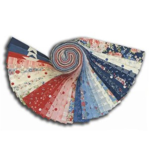 Quilting Jelly Roll Patchwork MODA MACKINAC ISLAND 2.5 Inch Sewing Fabrics
