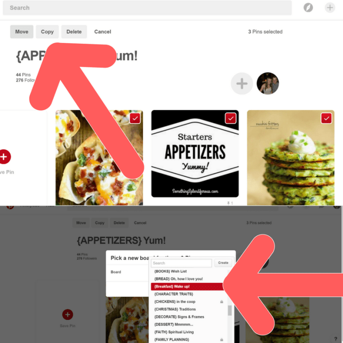 How to Move Groups of Pins in Pinterest Like a Pro