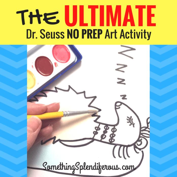Dr. Seuss No Prep Art