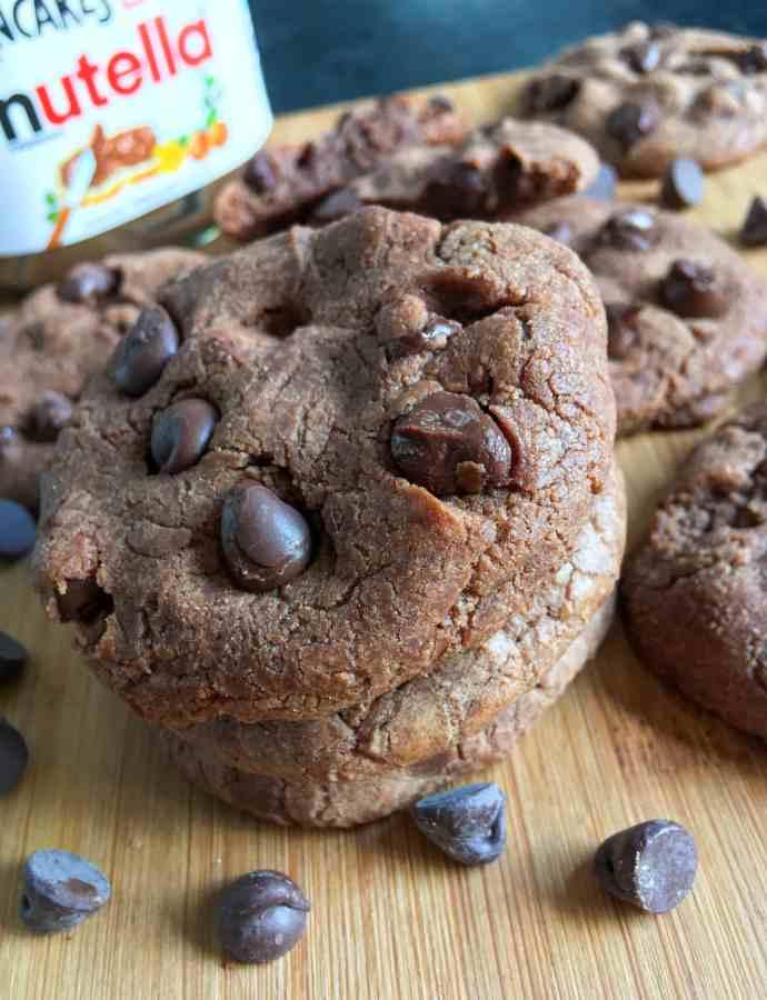 Easiest ever Nutella cookies
