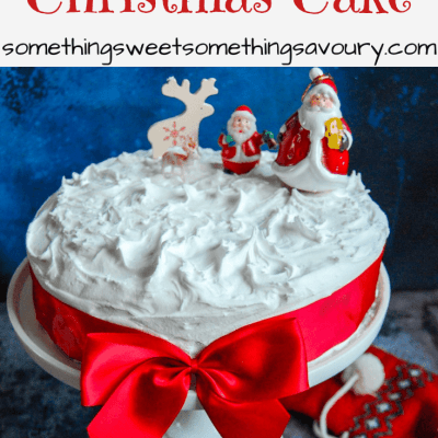 Amaretto Christmas Cake