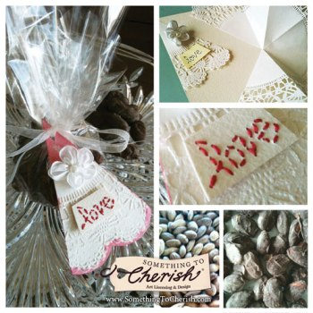 Dark Chocolate Almonds Wedding Favor