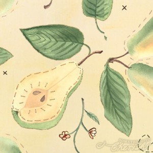 Something to Cherish Pear Design for License