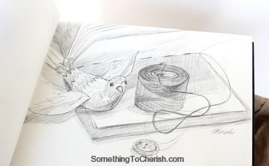 sketchbook-making-notebook-pencil