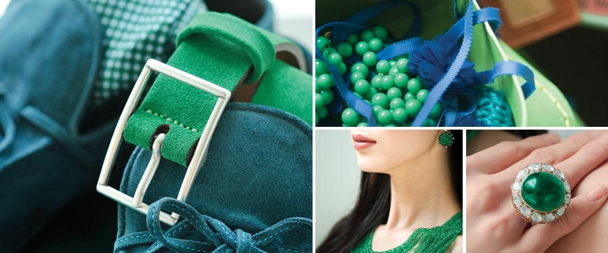 Emerald is the Pantone color for 2013