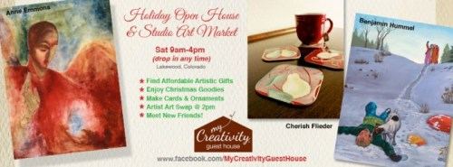 My Creativity Open House & Holiday Market 2012