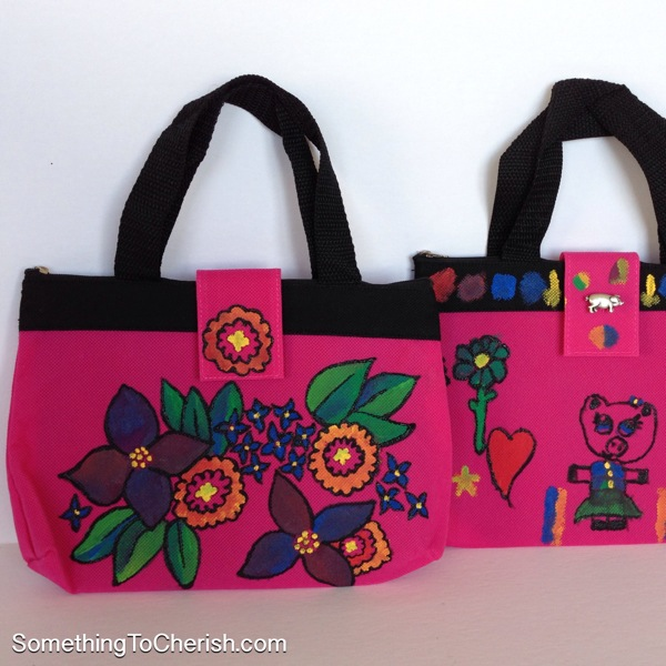 How to Fabric Paint Fashion Handbags Tutorial