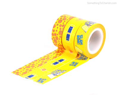 Basketball Theme Decorative Repositionable Washi Tape