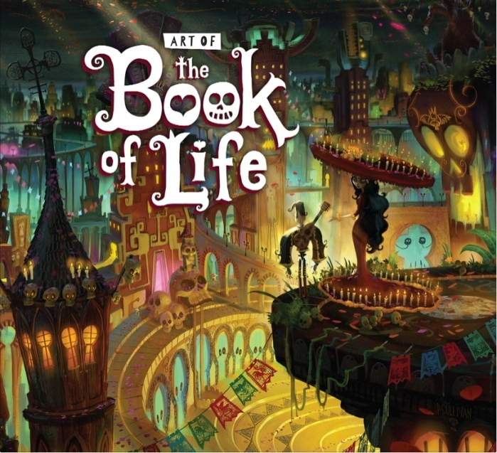 """This film is a vibrant fantasy-adventure, tells the legend of Manolo, a conflicted hero and dreamer who sets off on an epic quest through magical, mythical and wondrous worlds in order to rescue his one true love and defend his village.""Book of Life Movie Concept Illustration, Art Director Paul Sullivan © 2014 TWENTIETH CENTURY FOX"