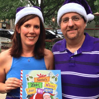 Authors DK Simoneau and David Radman of Award Winning Children's Book