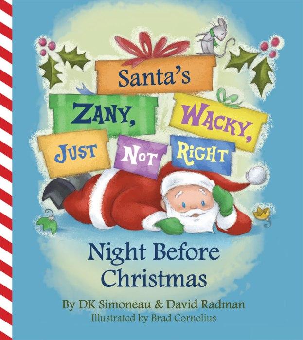 Award winning Christmas Children's Book about a Purple Santa ...