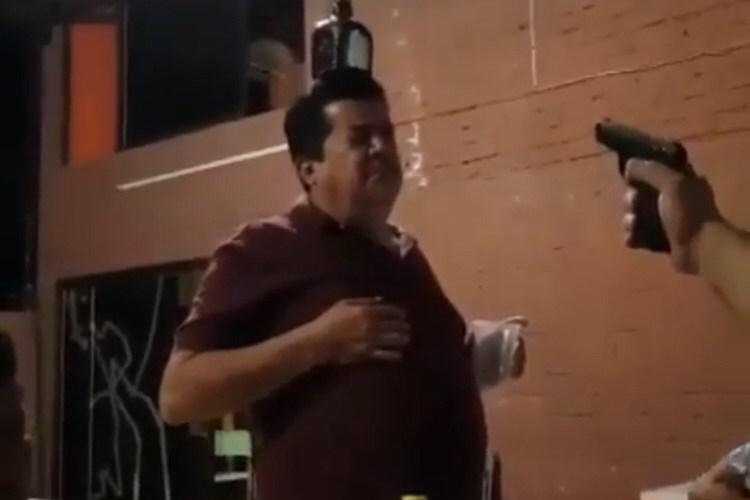 Man shoots at friend