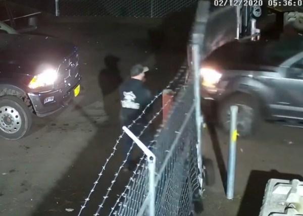Woman breaks into tow lot