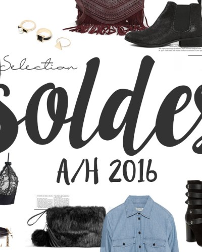 Sélection soldes A/H 2016