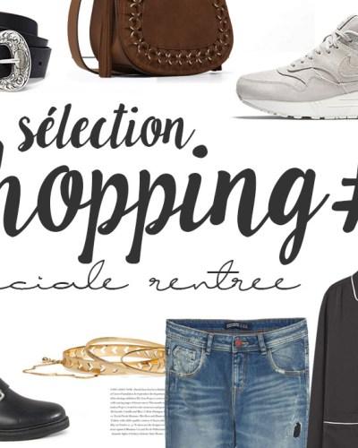 Sélection shopping #6 rentrée