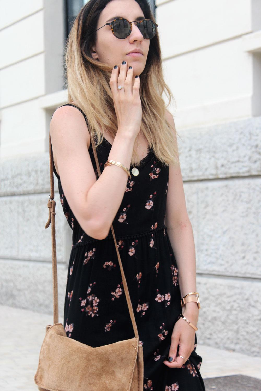 look-robe-longue-fleurs-cachecache