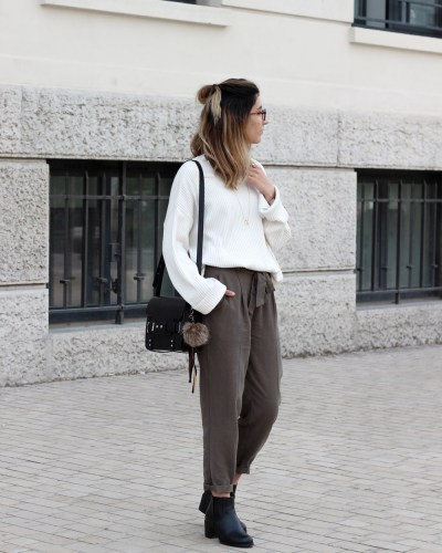 Oversize sweater & jogger pants