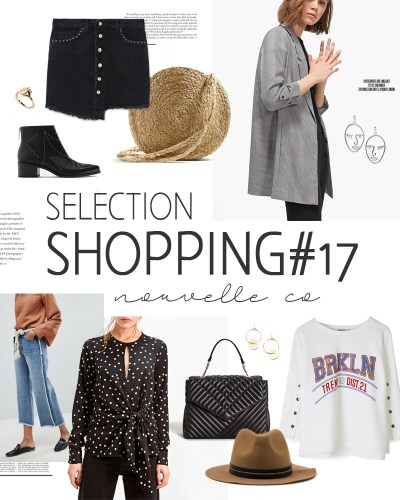 Sélection shopping #17 nouvelle co